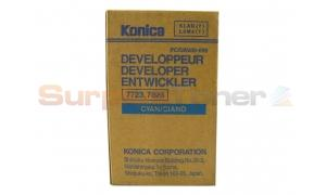 KONICA 7723 7823 DEVELOPER CYAN (950698)