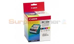 CANON COLOR BJ INK CARTRIDGE BC-33E BJC-3000 SERI (4611A003)