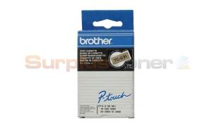 BROTHER P-TOUCH TAPE BLACK/GOLD 9MM X 7.7M (TC-891)