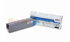 OKIDATA C8800N TONER CARTRIDGE BLACK (43487736)