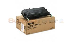 SAVIN 3699 TYPE 500 TONER CARTRIDGE BLACK (9851)