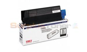 OKIDATA C3200 TONER CARTRIDGE BLACK (43034804)