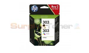 HP ENVY PHOTO 6220 INK CARTRIDGE BLACK/COLOR 2PK (3YM92AE#UUS)