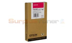 EPSON SP 7800 9800 K3 INK CTG MAGENTA 220ML (T603B00)
