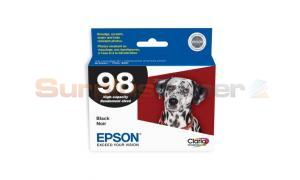 EPSON NO 98 INK CART BLACK HY (T098120)