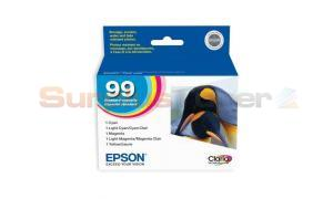 EPSON NO 99 MULTI PACK INK CARTRIDGES (T099920)