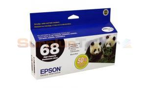 EPSON NO 68 INK CART BLACK HY (T068120-D1)
