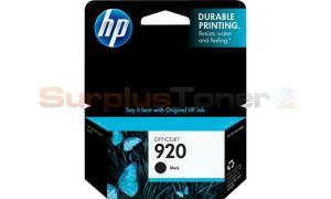 HP NO 920 INK BLACK (CD971AN)