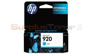 HP NO 920 INK CYAN (CH634AN)