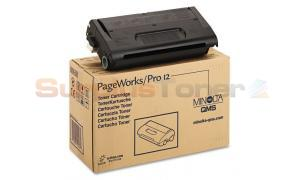 QMS PAGEWORKS 12 TONER CARTRIDGE BLACK (1710432001)