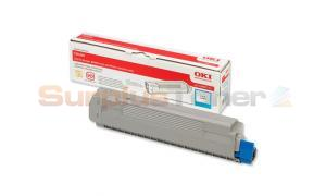 OKIDATA C8600 TONER CARTRIDGE CYAN (43487711)