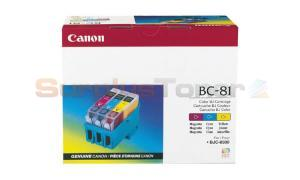 CANON BJC-8500 BC-81 INKJET TRICOLOR 100PAGES (0935A003)