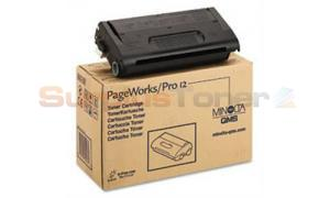 MINOLTA PAGEWORKS 12 TONER CARTRIDGE BLACK (0936-606)