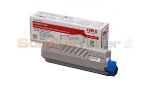 OKIDATA C5950 TONER YELLOW (43865721)