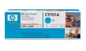 HP COLOR LASERJET 1500 GOV TONER CART CYAN (C9701AG)