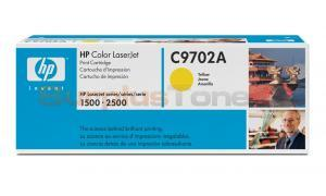 HP COLOR LASERJET 1500 GOV TONER CART YELLOW (C9702AG)
