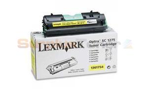 LEXMARK OPTRA SC 1275 TONER CART YELLOW (1361754)