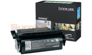 LEXMARK OPTRA T610 RP PRINT CARTRIDGE BLACK HY (12A5845)