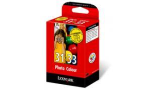 LEXMARK NO 31 PHOTO 33 COLOR PRINT CARTRIDGES TWIN-PACK (0080D2178)