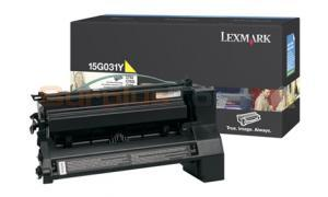 LEXMARK C752 PRINT CART YELLOW 6K (15G031Y)