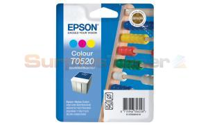 EPSON STYLUS 400 600 INK CART TRICOLOR 300 PAGES (C13T05204010)