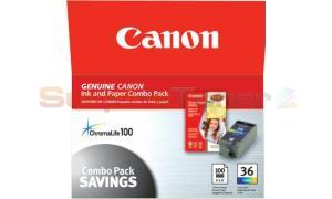 CANON CLI-36 INK TANK PAPER COLOR 100 PAGES (1511B007)
