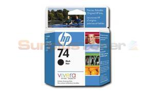 HP NO 74 INKJET CARTRIDGE BLACK (CB335WC)