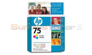 HP NO 75 INKJET CARTRIDGE TRI-COLOR (CB337WC)