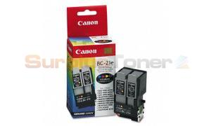 CANON BC-21E INKJET COLOR AND BLACK (F45-1301-300)