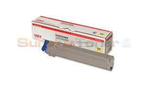 OKIDATA C9800 TONER YELLOW (42918913)