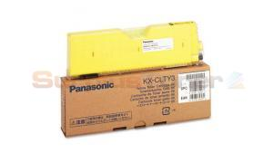 PANASONIC KX-CL400 TONER CARTRIDGE YELLOW 6K (KXCLTY3)