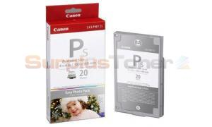 CANON SELPHY ES1 E-P20S PHOTO PACK SILVER INK 25 PHOTOS (2365B001)