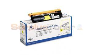 QMS MAGICOLOR 2400 TONER YELLOW HY (TYPE AM) (1710587-005)