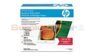HP CLJ CP1215 BROCHURE VALUE PACK (3 TONERS / 150 BRO. PAPER) (CE256A)