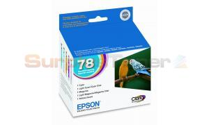 EPSON NO 78 COLOR INKS STANDARD CAPACITY (T078920)