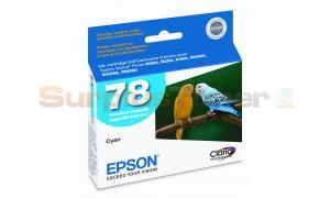 EPSON NO 78 INK CYAN  (T078220)