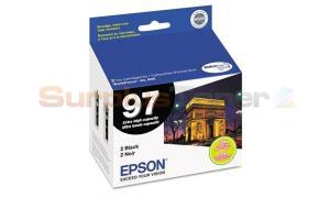 EPSON NO 97 PRINT CARTRIDGE BLACK XHY (T097120-D2)