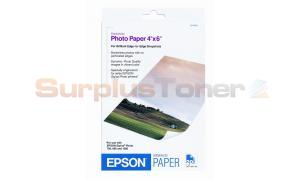 EPSON STYLUS 780 1280 PHOTO PAPER 4 X 6 20 SHEETS (S041458)