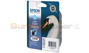 EPSON STYLUS PHOTO R290 INK CARTRIDGE LIGHT CYAN HY (T081590)