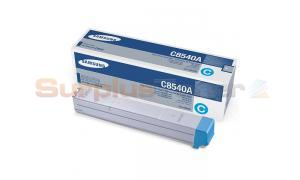 SAMSUNG CLX-8540ND TONER CARTRIDGE CYAN (CLX-C8540A)