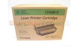 LEXMARK OPTRA R TONER CARTRIDGE (12A0615)