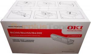OKIDATA B6200 6300 TONER CARTRIDGE BLACK 10K (09004078)