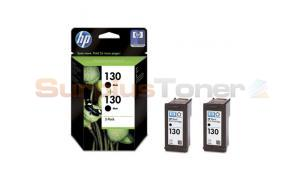 HP NO 130 INKJET PRINT CART BLACK (C9504HE)
