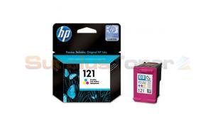 HP NO 121 INK CARTRIDGE TRI-COLOR 165 PAGES (CC643HE)