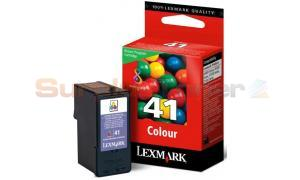 LEXMARK NO 41 PRINT CARTRIDGE TRI-COLOR RP (18Y0141E)