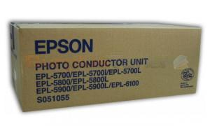 EPSON EPL-5700 PHOTOCONDUCTOR DRUM UNIT BLACK (S051055)