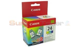 CANON BCI-24C INK CART COLOR (6882A009)