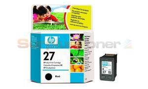 HP NO 27 INKJET PRINT CARTRIDGE BLACK (C8727AE)