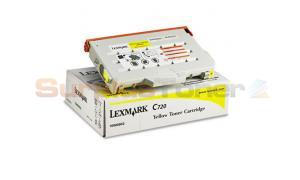 LEXMARK C720 TONER CART YELLOW (15W0902)