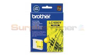 BROTHER DCP130C 330C MFC240C INK CARTRIDGE YELLOW (LC-1000Y)